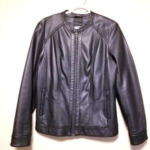 Soya Concept Faux Leather Moto Jacket